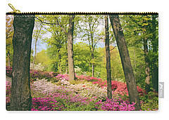 A Colorful Hillside Carry-all Pouch by Jessica Jenney