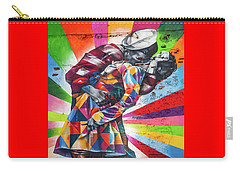 A Colorful Romance Carry-all Pouch by Az Jackson