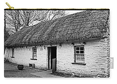 A Country Cottage Carry-all Pouch by Martina Fagan