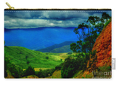 Carry-all Pouch featuring the photograph  A Country Mile by Blair Stuart