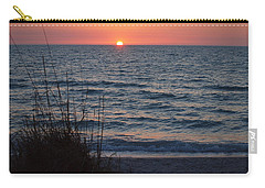 A Country Sunset Carry-all Pouch by Robert Margetts