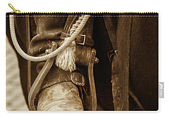 A Cowboy's Boot Carry-all Pouch