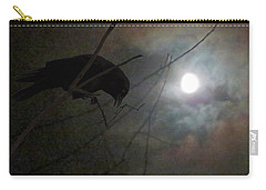 A Crow Moon Carry-all Pouch