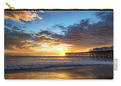 A Crystal Sunset Carry-all Pouch by Joseph S Giacalone