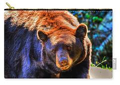 A Curious Black Bear Carry-all Pouch