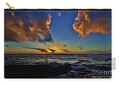 A Dali Like Sunset Carry-all Pouch by Craig Wood