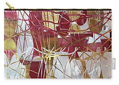 A Dance Of Rubies And Old Gold Carry-all Pouch