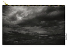 Carry-all Pouch featuring the photograph A Dark Moody Storm by John Norman Stewart