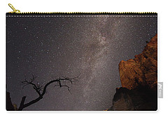 A Dark Night In Zion Canyon Carry-all Pouch
