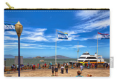 Carry-all Pouch featuring the photograph A Day At Pier 39 by John M Bailey