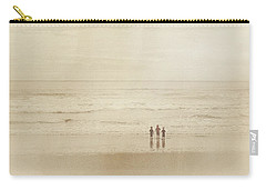 Carry-all Pouch featuring the photograph A Day At The Beach by Heidi Hermes