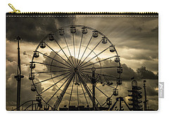 Carry-all Pouch featuring the photograph A Day At The Fair by Chris Lord