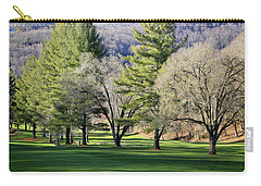 A Day For Golf  Carry-all Pouch by Dennis Baswell
