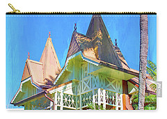 Carry-all Pouch featuring the photograph A Day In Adventureland by Mark Andrew Thomas
