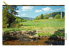A Day In Glendalough Carry-all Pouch by Martina Fagan
