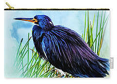 A Day In The Marsh Carry-all Pouch by Cyndy Doty
