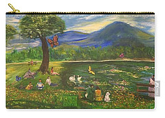 A Day In The Park - 1a Carry-all Pouch by Belinda Low
