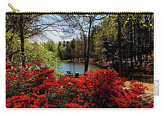 A Day In The Park Carry-all Pouch by James C Thomas