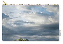 Carry-all Pouch featuring the photograph A Day In The Prairie by Iris Greenwell