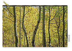 Carry-all Pouch featuring the photograph A Day In The Woods by Scott Read