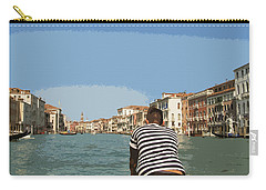 A Day In Venice Carry-all Pouch