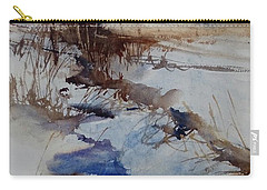 Carry-all Pouch featuring the painting A Day Like That by Sandra Strohschein