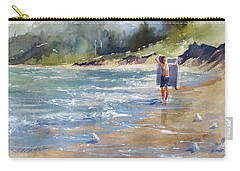 Carry-all Pouch featuring the painting A Day Like This by Sandra Strohschein