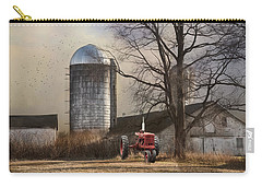 Carry-all Pouch featuring the photograph A Day Off by Robin-lee Vieira
