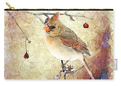 Carry-all Pouch featuring the photograph A Delicate Thing by Betty LaRue