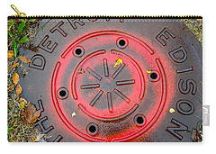 A Detroit Thing Carry-all Pouch by Sandra Church