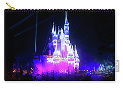 Carry-all Pouch featuring the photograph A Disney New Year by Mark Andrew Thomas
