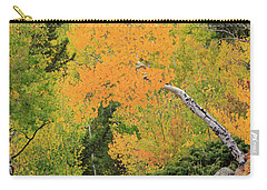 Carry-all Pouch featuring the photograph Yellow Drop by David Chandler