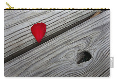 Carry-all Pouch featuring the photograph A Drop Of Color by Robert Knight