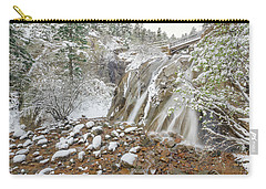 A Factitious Bridge In A Natural Environment  Carry-all Pouch