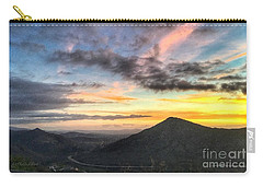 A Feeling Of The Presence Of God - Digital Painting Carry-all Pouch