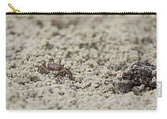 A Fiddler Crab In The Sand Carry-all Pouch