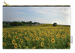 A Field Of Sunflowers Carry-all Pouch