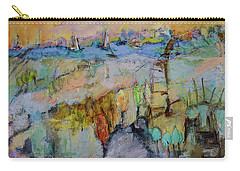 A Fine Day For Sailing Carry-all Pouch by Sharon Furner