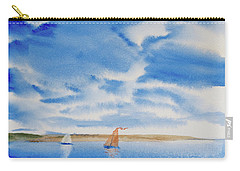 A Fine Sailing Breeze On The River Derwent Carry-all Pouch