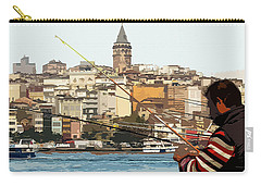 A Fisherman In Istanbul Carry-all Pouch