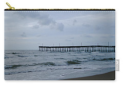 A Fishing Pier At Dawn Carry-all Pouch