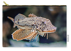 Carry-all Pouch featuring the photograph A Fishy Photo by Rob Sellers