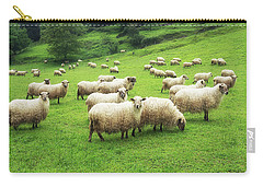 A Flock Of Sheep Carry-all Pouch