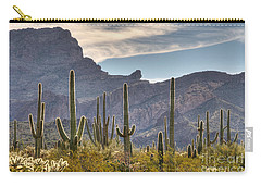 A Forest Of Saguaro Cacti Carry-all Pouch