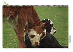 A Friend Indeed Carry-all Pouch by Kim Henderson
