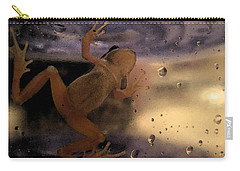 A Frogs World Carry-all Pouch