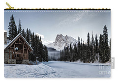 A Frozen Emerald Lake Morning Carry-all Pouch