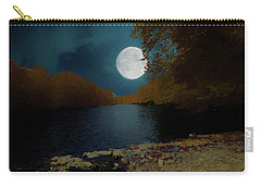 A Full Moon On A River. Carry-all Pouch