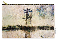 Carry-all Pouch featuring the photograph A Gallant Ship by Claire Bull