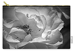 Carry-all Pouch featuring the photograph A Garden Treasure by Lori Seaman